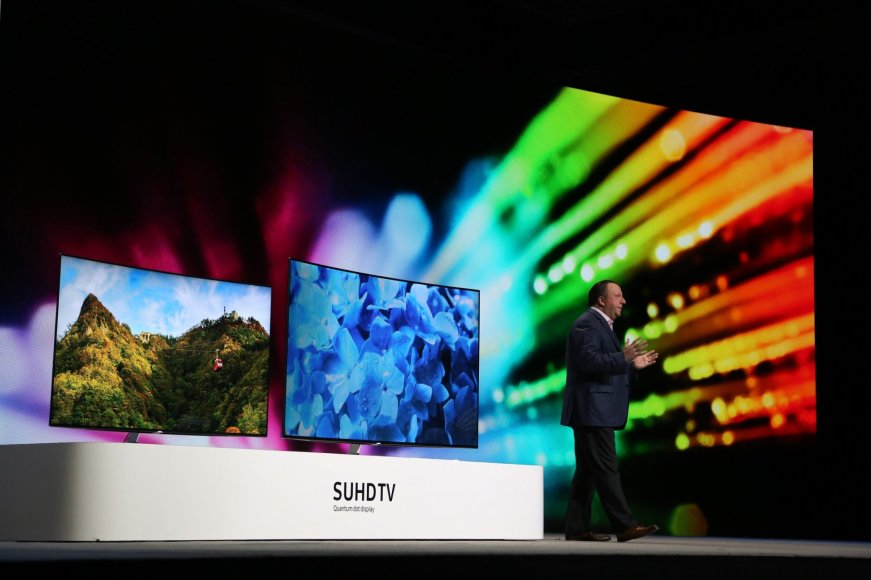 Samsung televizorius su SUHD ekranu