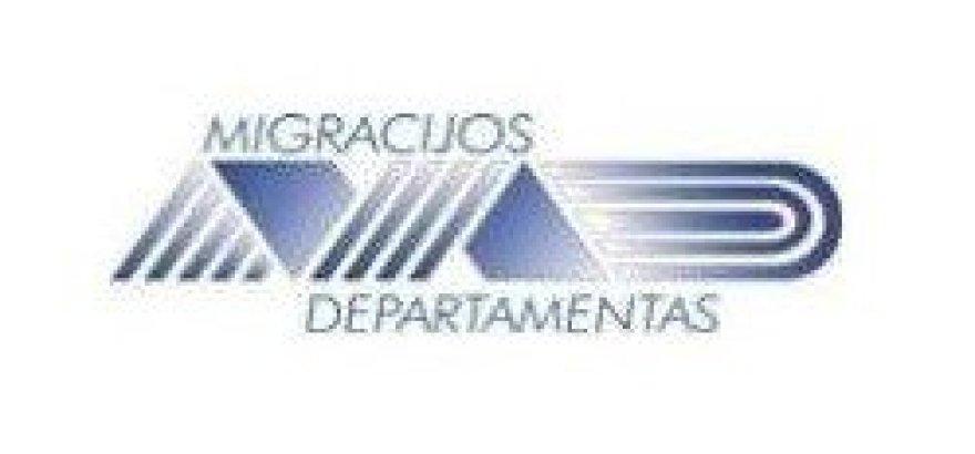 Migracijos departamento logotipas