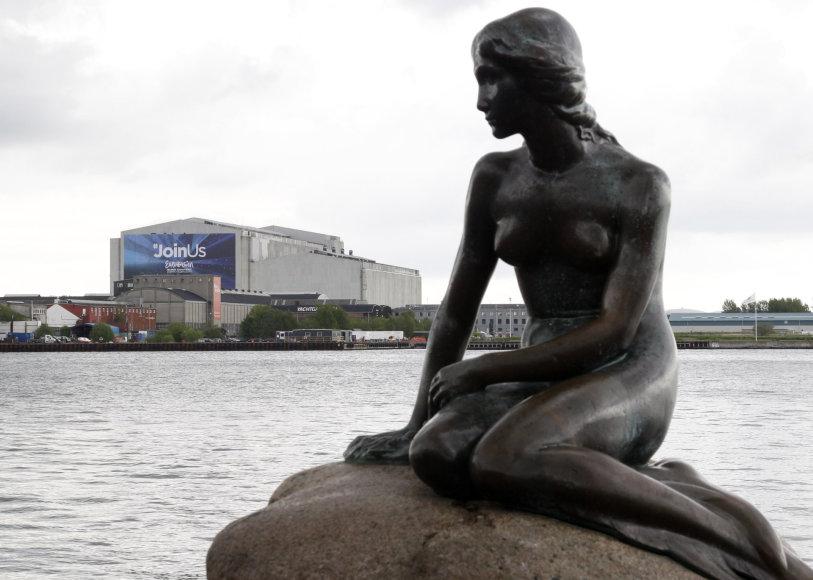 """""""Scanpix"""" nuotr./Kopenhagos simbolis – undinėlė"""