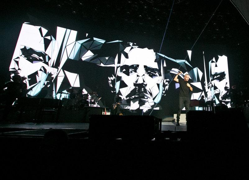 Gretos Skaraitienės/Žmonės.lt nuotr./Eros Ramazzotti koncertas Vilniuje