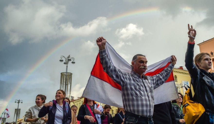 "AFP/""Scanpix"" nuotr./Baltarusija"