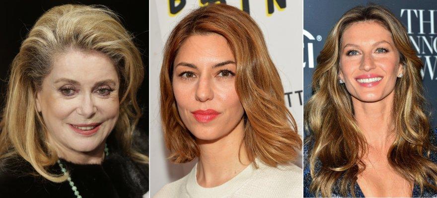 Catherine Deneuve, Sofia Coppola ir Gisele Bundchen