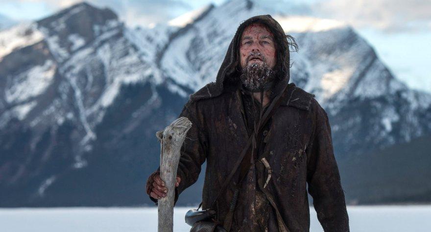 "Leonardo DiCaprio filme ""Hju Glaso legenda"""