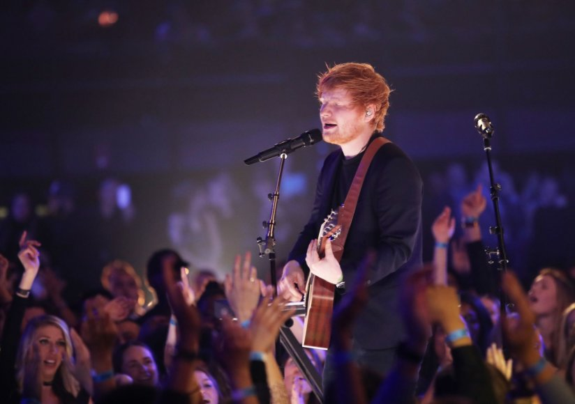 "AFP/""Scanpix"" nuotr./Edas Sheeranas"