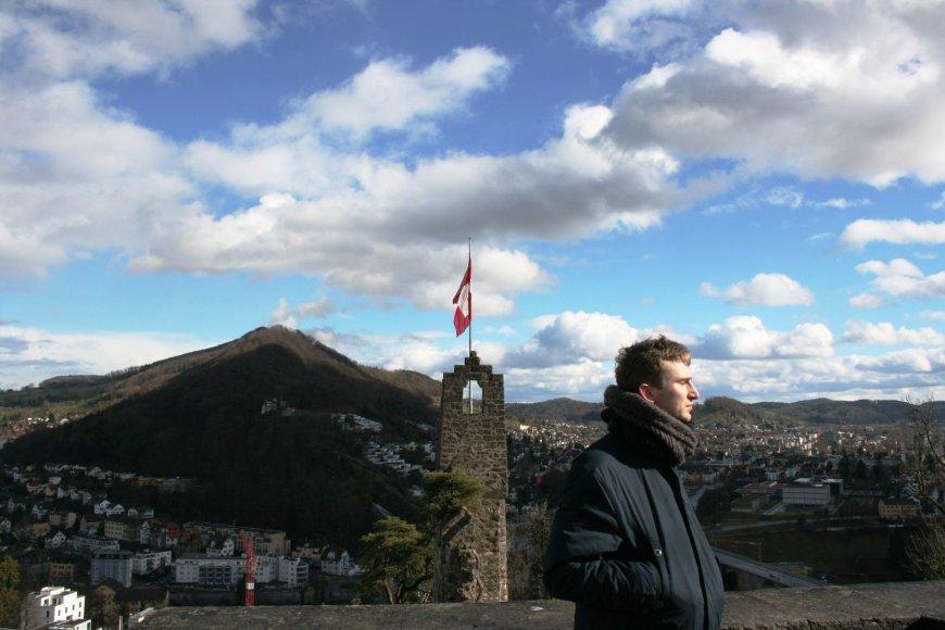 Markas Palubenka Šveicarijoje