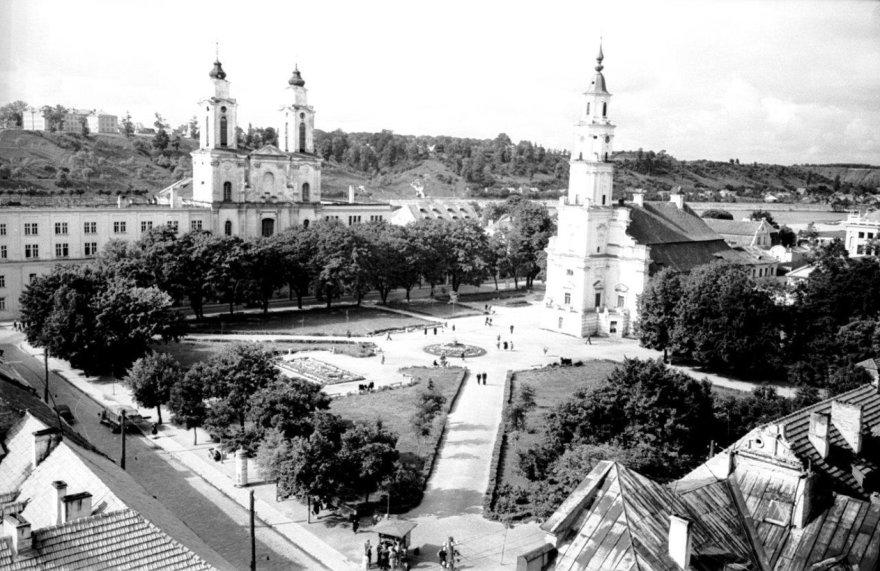 Kauno rotušė XX amžiaus 6-ajame dešimtmetyje