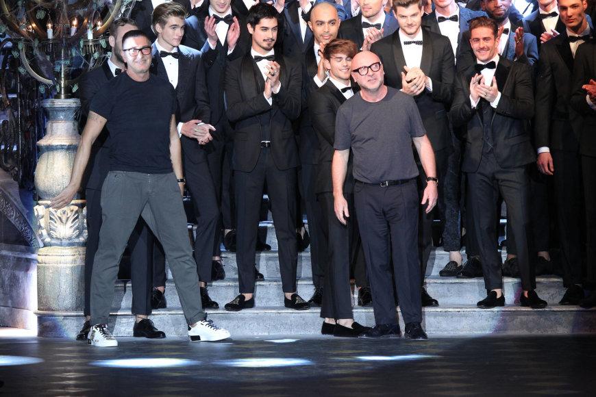 """""""Dolce & Gabbana"""" 2017-2018 m. rudens-žiemos kolekcijos pristatymas"""