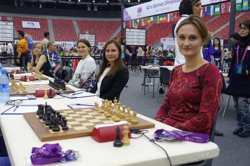 Moterų šachmatų rinktinė
