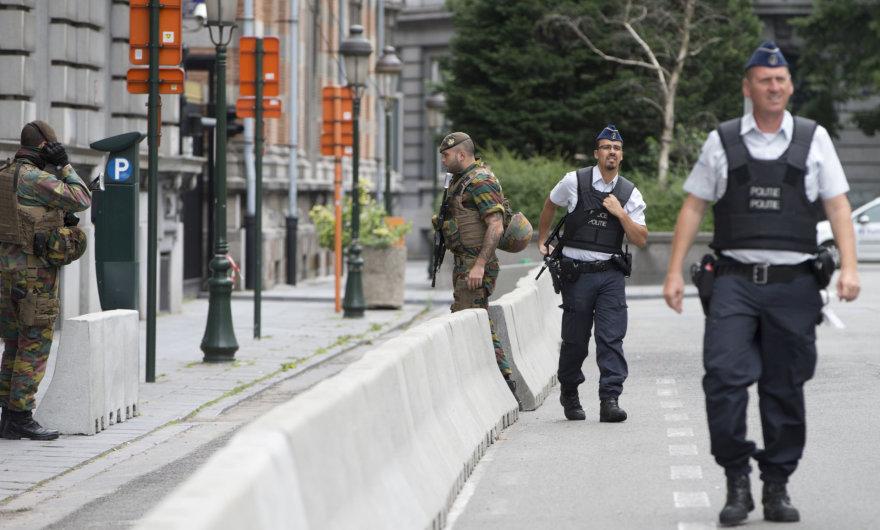 Belgijos policininkai