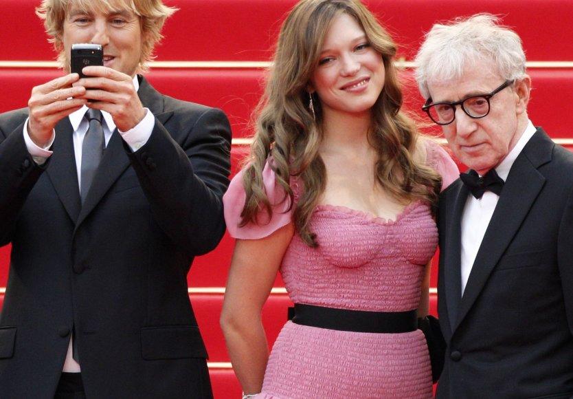 Woody Allenas su aktore Lea Seydoux