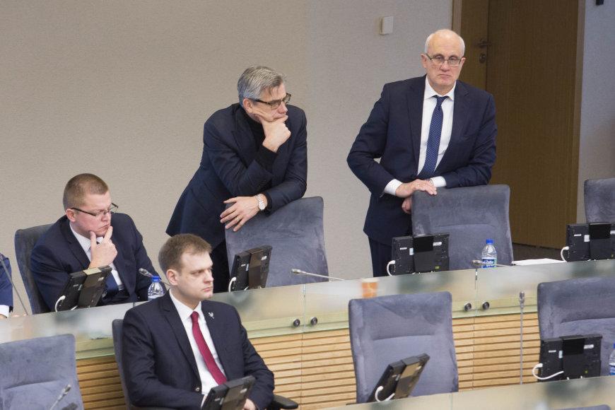 Irmanto Gelūno / 15min nuotr./Dainius Gaižauskas, Virgilijus Poderys ir Stasys Jakeliūnas