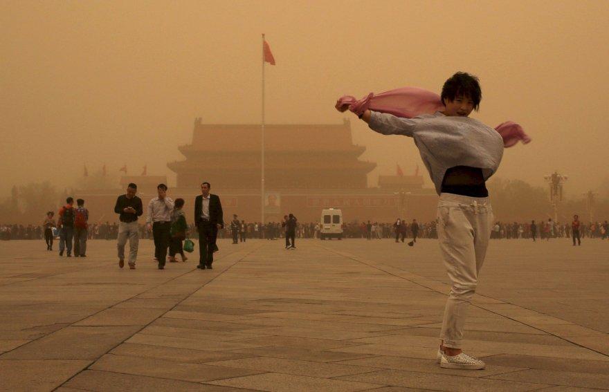 Smėlio audra Pekine