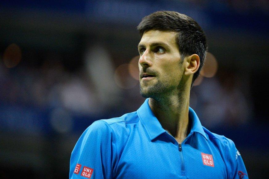 """""""US Open"""" finalas: Stanas Wawrinka – Novakas Džokovičius"""