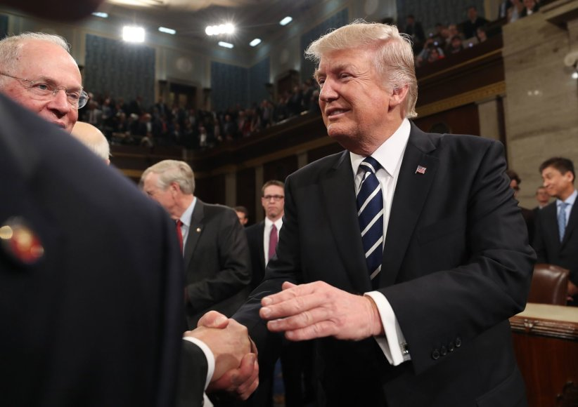 Donaldo Trumpo kalba JAV Kongresui
