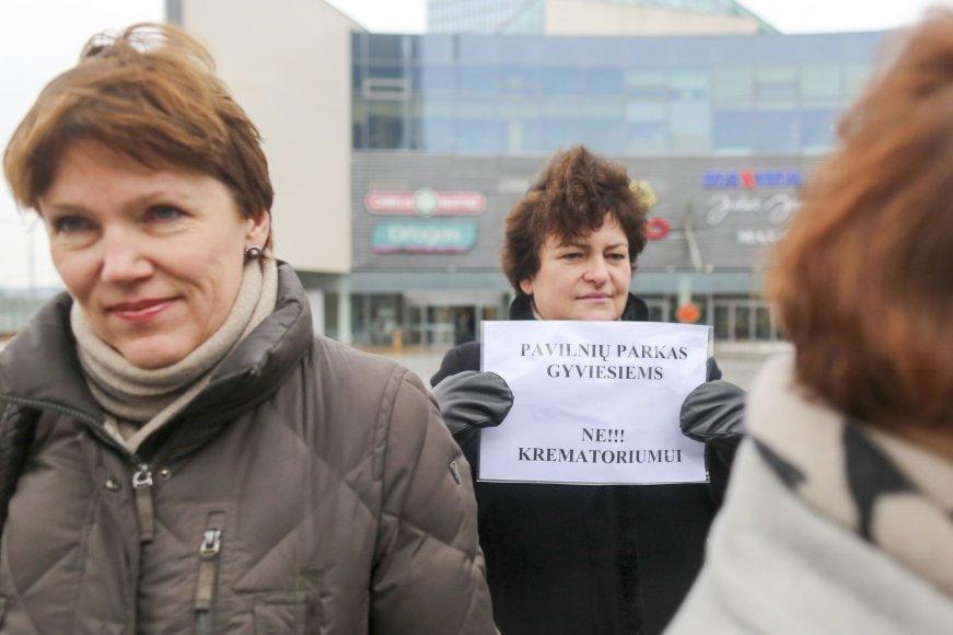 "Akcija ""Krematoriumui Olandų gatvėje -NE!"""