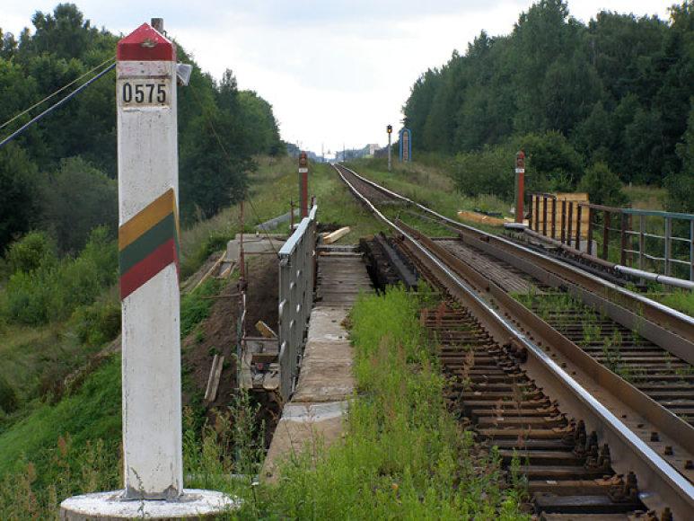 Bėgiai Lietuvos ir Baltarusijos pasienyje