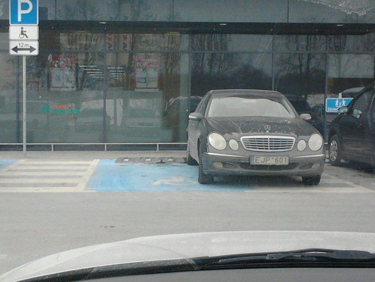Parkavimas Trakų Vokėje
