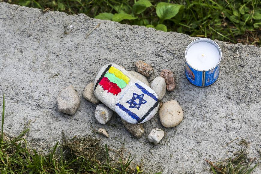 Eisena, skirta išžudytiems Molėtų krašto žydams pagerbti