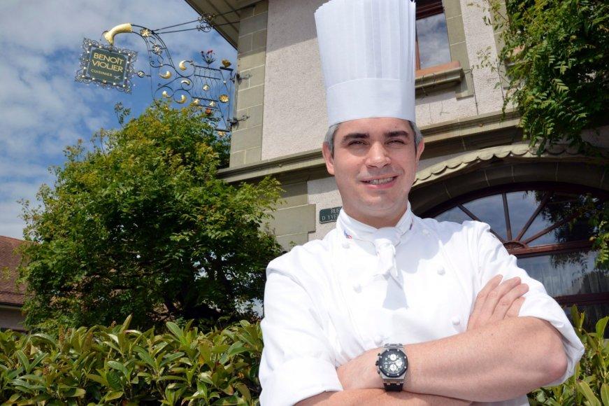 Virtuvės šefas Benoit Violier
