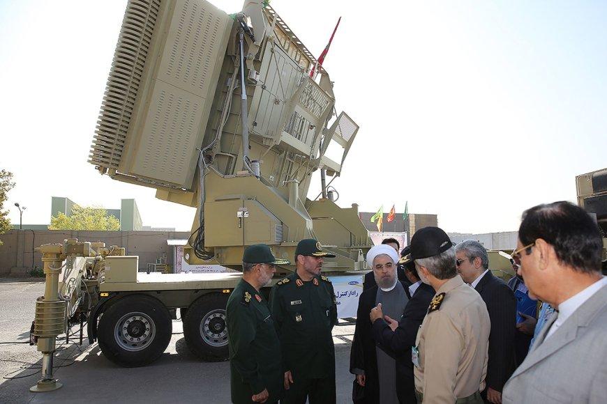 """""""Bavar 373"""" raketinė gynybos sistema Irane"""