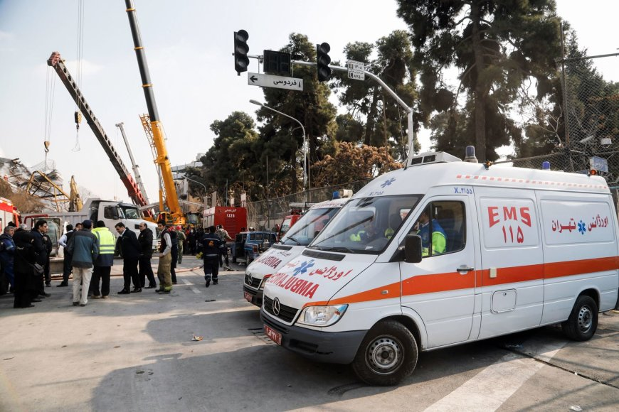 Irano greitosios pagalbos automobiliai