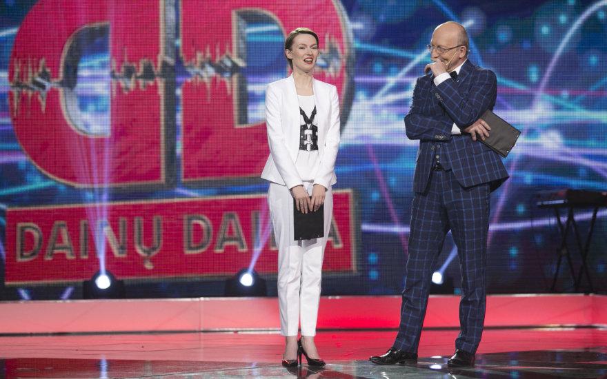Beata Tiškevič Hasanova ir Arūnas Valinskas