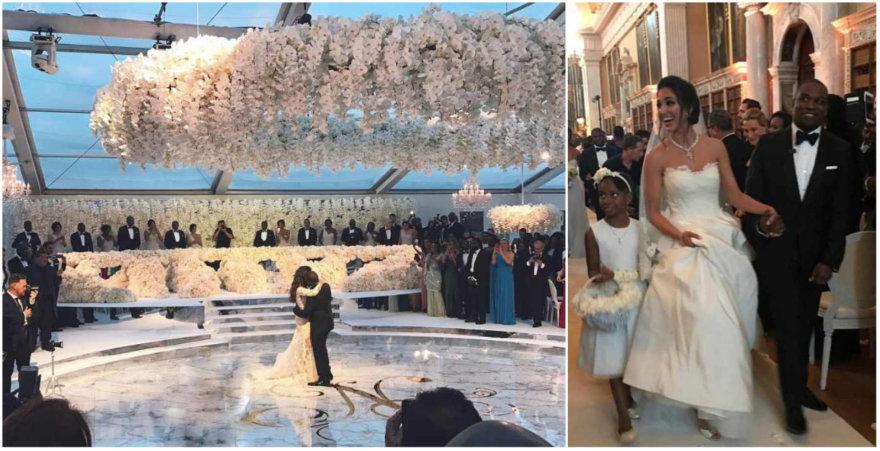 Folarino Alakijos ir Nazanin Jafarian Ghaissarifar vestuvės