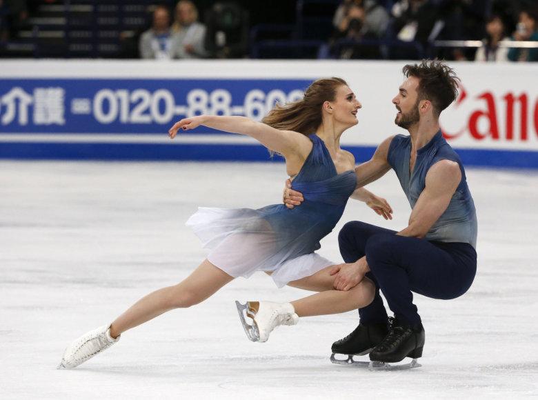 Gabriella Papadakis and Guillaume'as Cizeronas