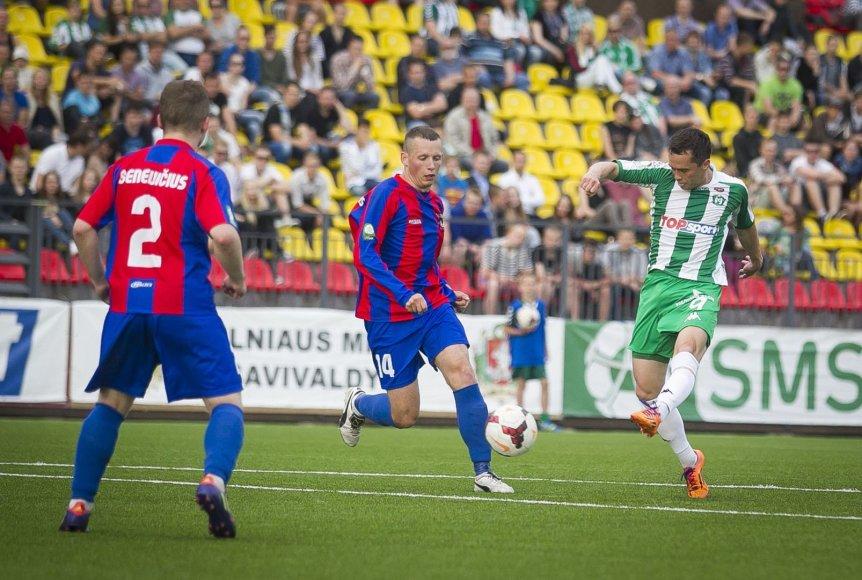 """Lietuvos futbolo A lyga: """"Žalgiris"""" – """"Dainava"""""""