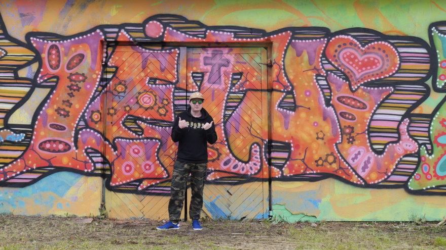 Projekto ,,The Baltic wild walls'' akimirkos