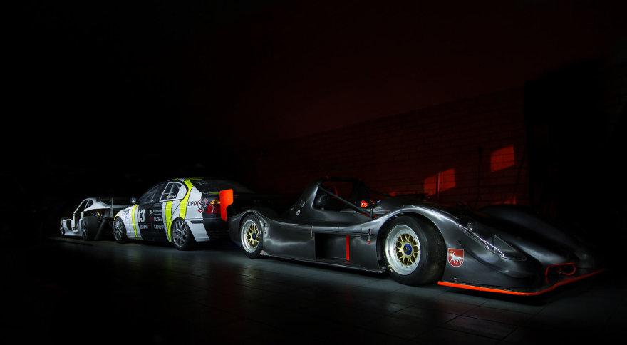 """GSR Racing"" komandos garažas"
