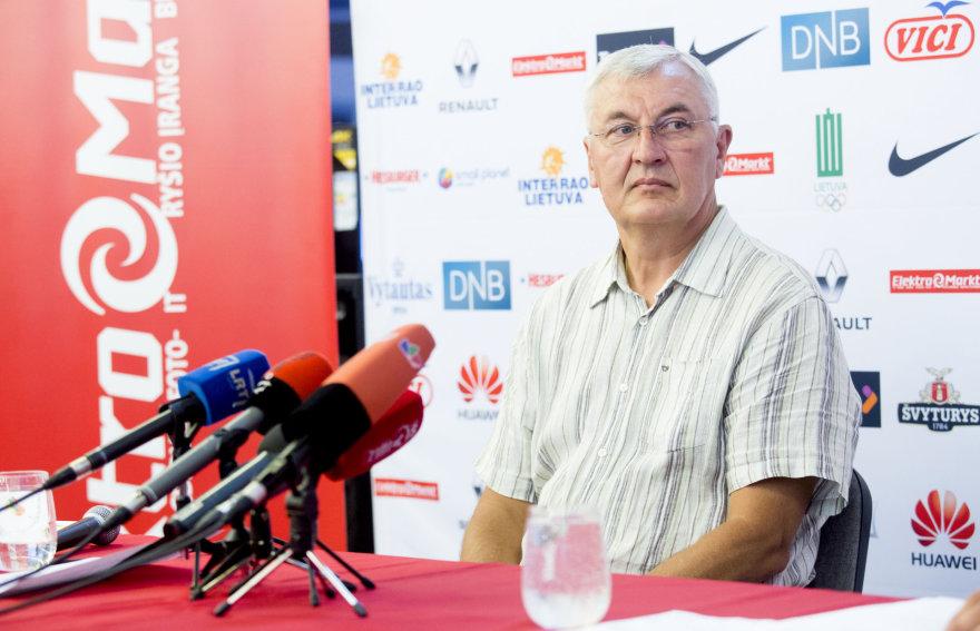 Jonas Kazlauskas paskelbė sutrumpintą kandidatų sąrašą