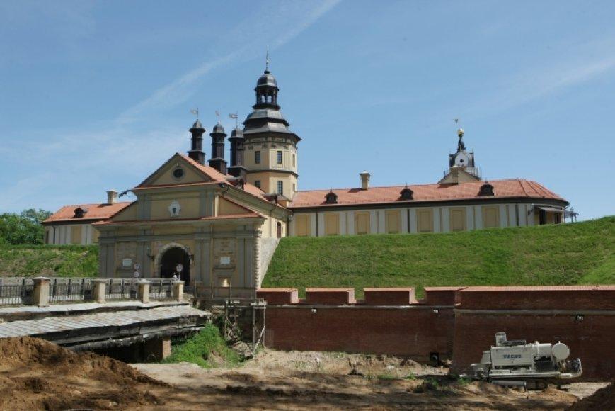 Radvilų pilis Nesvyžiuje