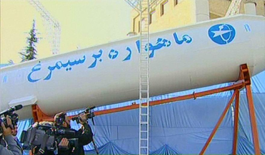 Iranas smarkiai apribojo savo kosmines ambicijas