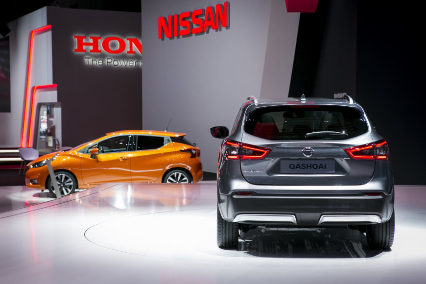 """Ženevoje – naujojo """"Nissan Qashqai"""" premjera"""