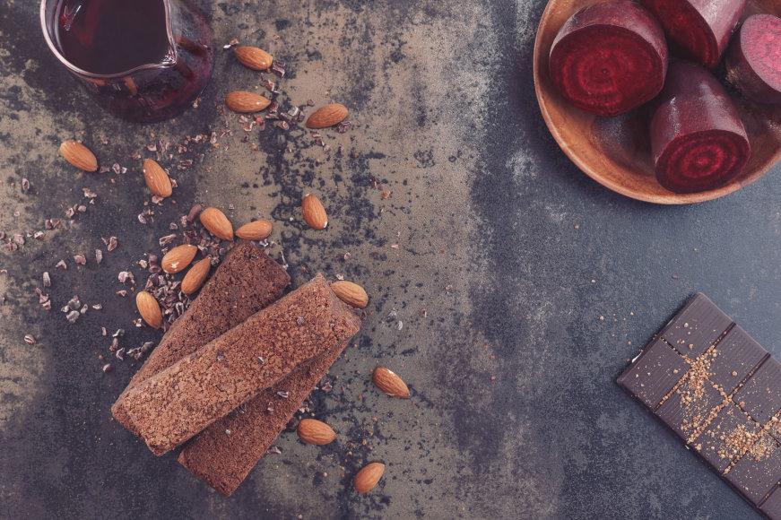 Šokoladas ir burokėliai – neįprastas, bet puikus derinys.