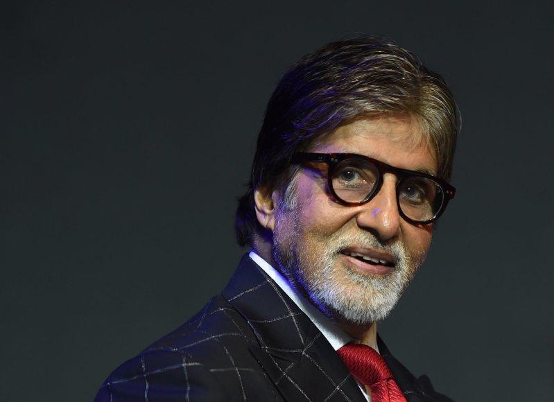 "AFP/""Scanpix"" nuotr./Amitabhas Bachchanas"