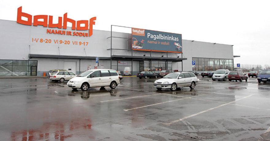 """Incidentas įvyko prie parduotuvės """"Bauhof"""""""