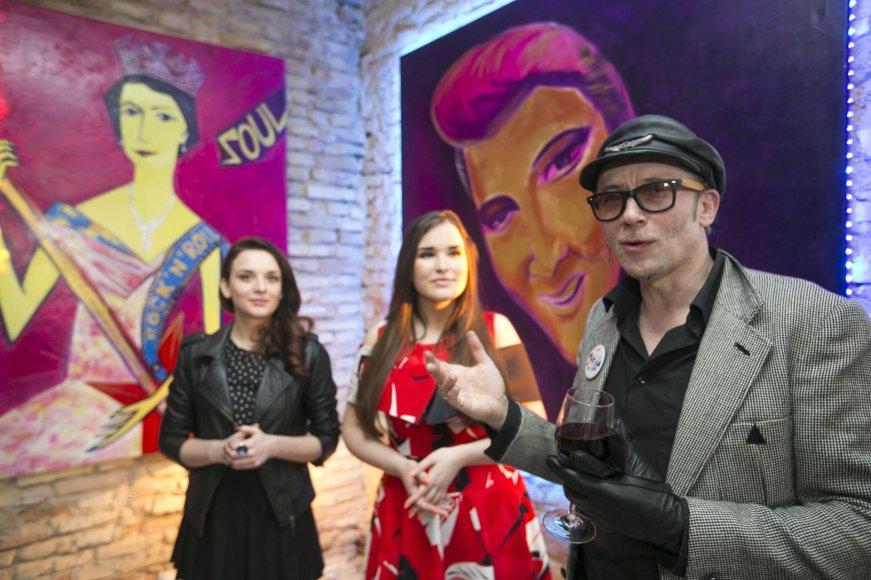 Julija Valiulienė, Marija Palaikytė, Linas Cicėnas
