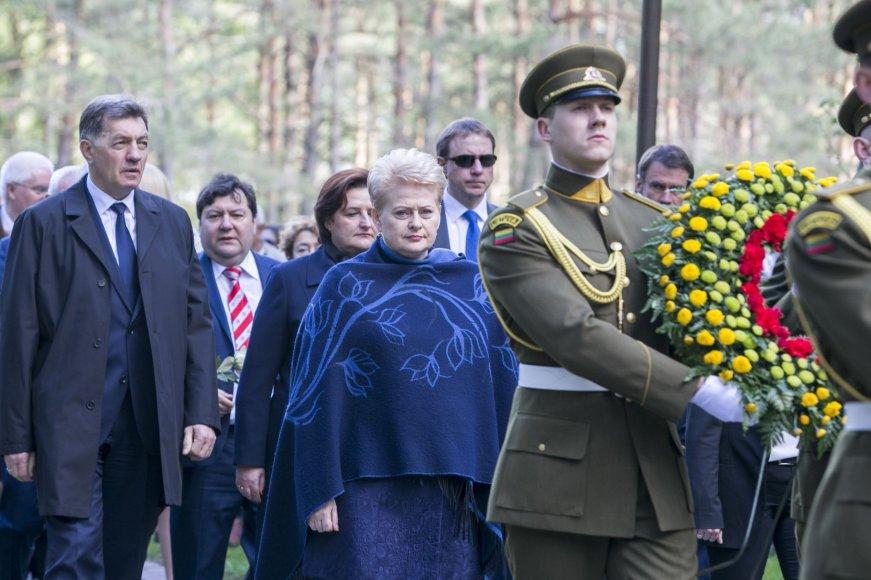 Algirdas Butkevičius, Loreta Graužinienė ir Dalia Grybauskaitė