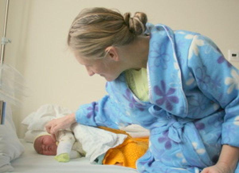 Pirmasis 2014-aisiais Taurageje gimęs berniukas svėrė 4,6 kg.