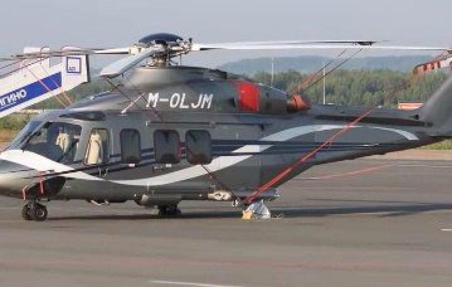 Vladimiro Janukovyčiaus sraigtasparnis