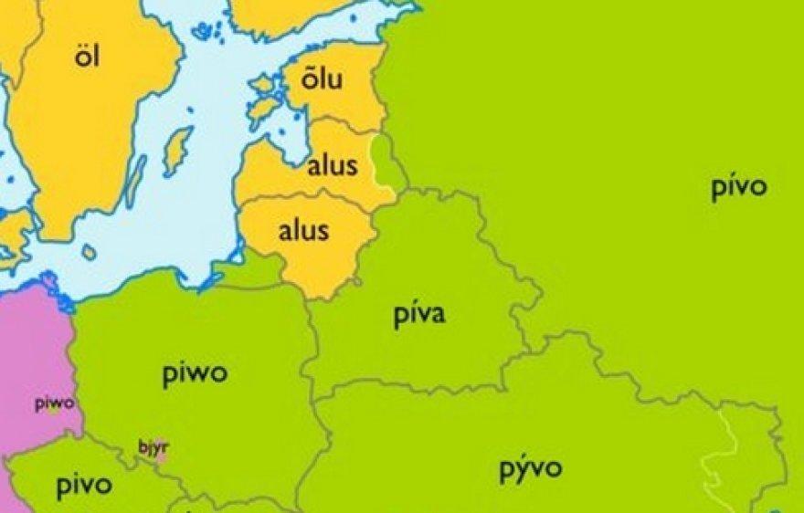 Kalbų žemėlapis
