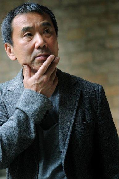 "AFP/""Scanpix"" nuotr./Haruki Murakami"