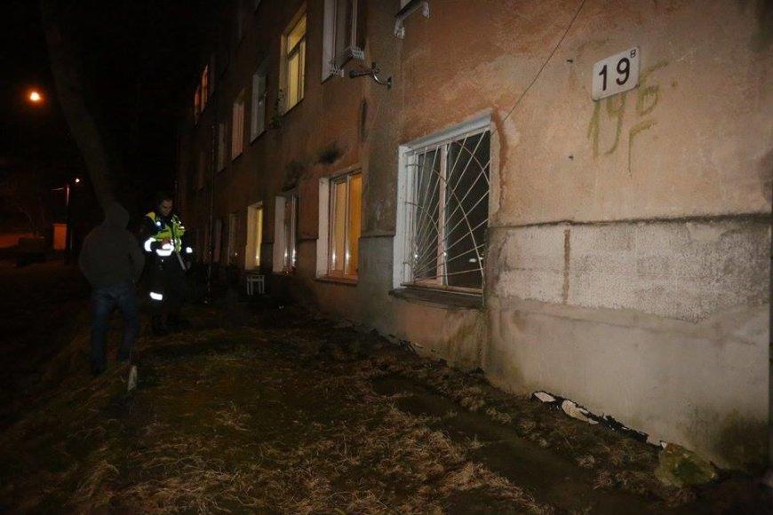 Vilniaus Tyzenhauzų gatvėje pro langą iškrito dvejų metų berniukas.