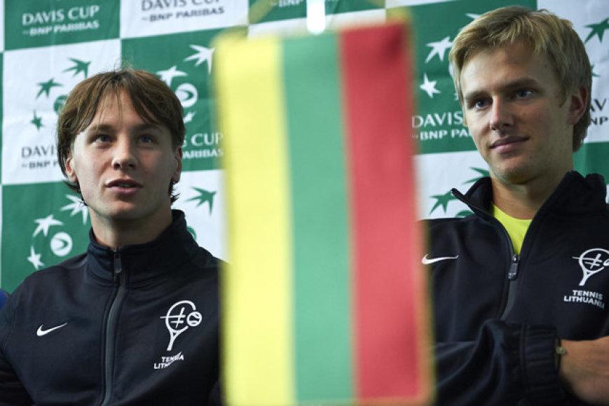 Ričardas Berankis ir Lukas Mugevičius