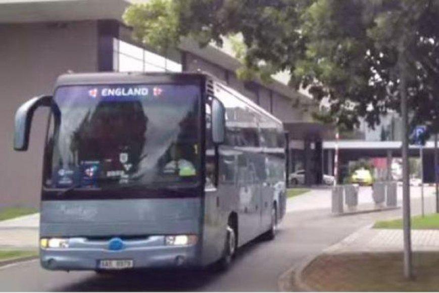 Anglijos rinktinės autobusas