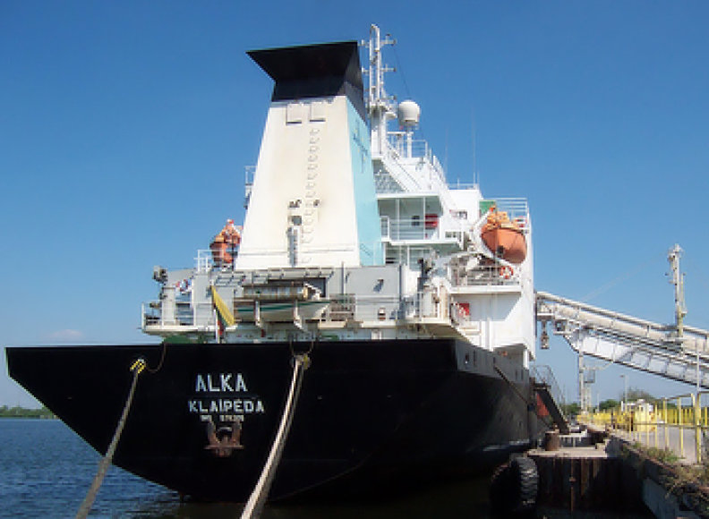 "Laivas ""Alka"" bus parduotas Turkijai."
