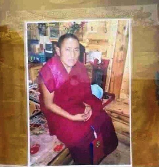Susideginęs Tibeto vienuolis