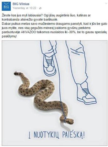 BIG Vilnius reklama